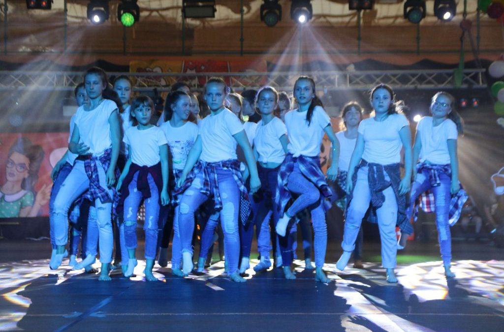 Taneczne występy naszych zespołów