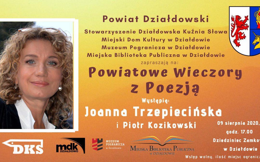 Joanna Trzepiecińska i Piotr Kozikowski – poezja w plenerze