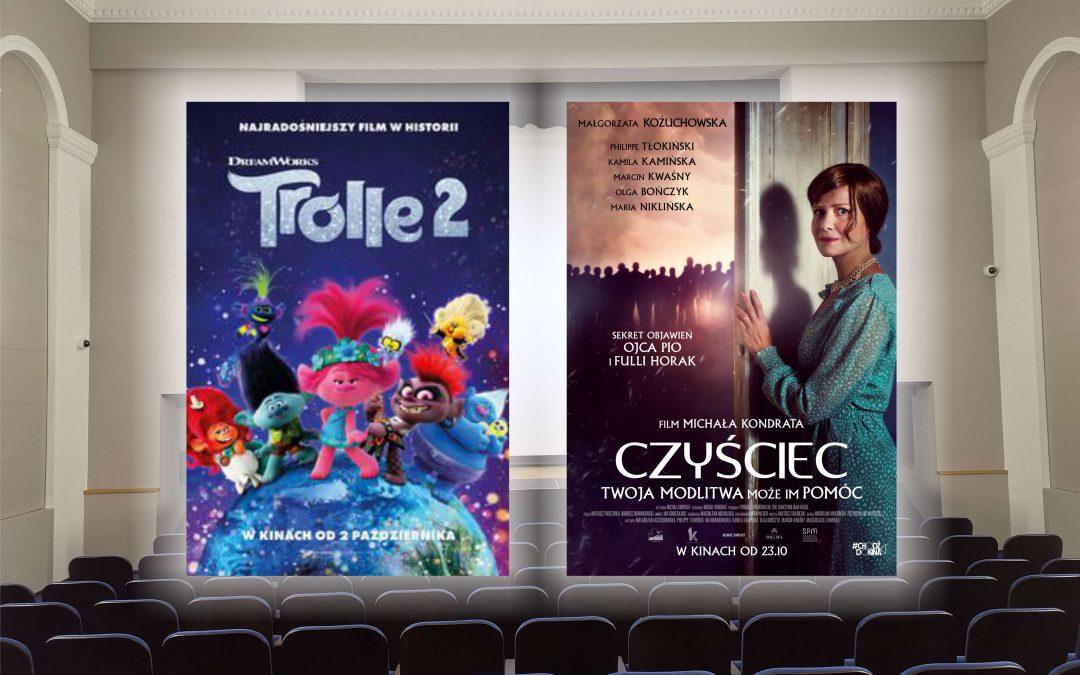 """""""Trolle 2"""" i """"Czyściec"""" od piątku w naszym kinie"""