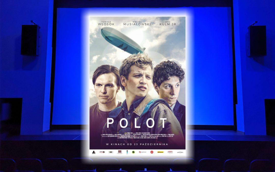 """Od dzisiaj zapraszamy na nowy film w naszym kinie """"Polot"""""""