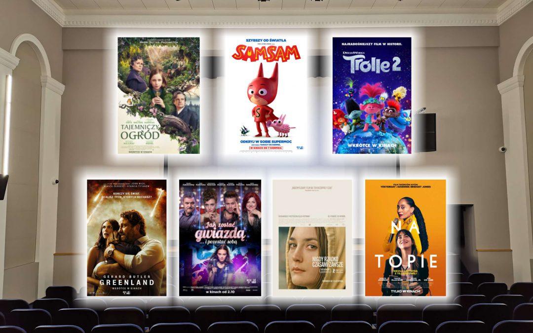 Zobaczcie, co gramy w weekend w naszym kinie