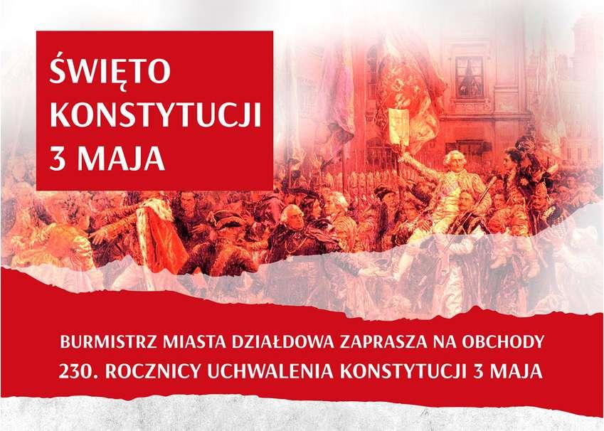 Święto Konstytucji 3 Maja w Działdowie