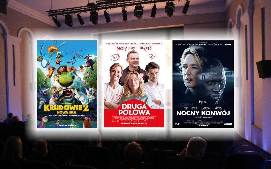 """Trzy nowości w kinie: """"Krudowie 2: Nowa era"""", """"Druga połowa"""" i """"Nocny konwój"""""""