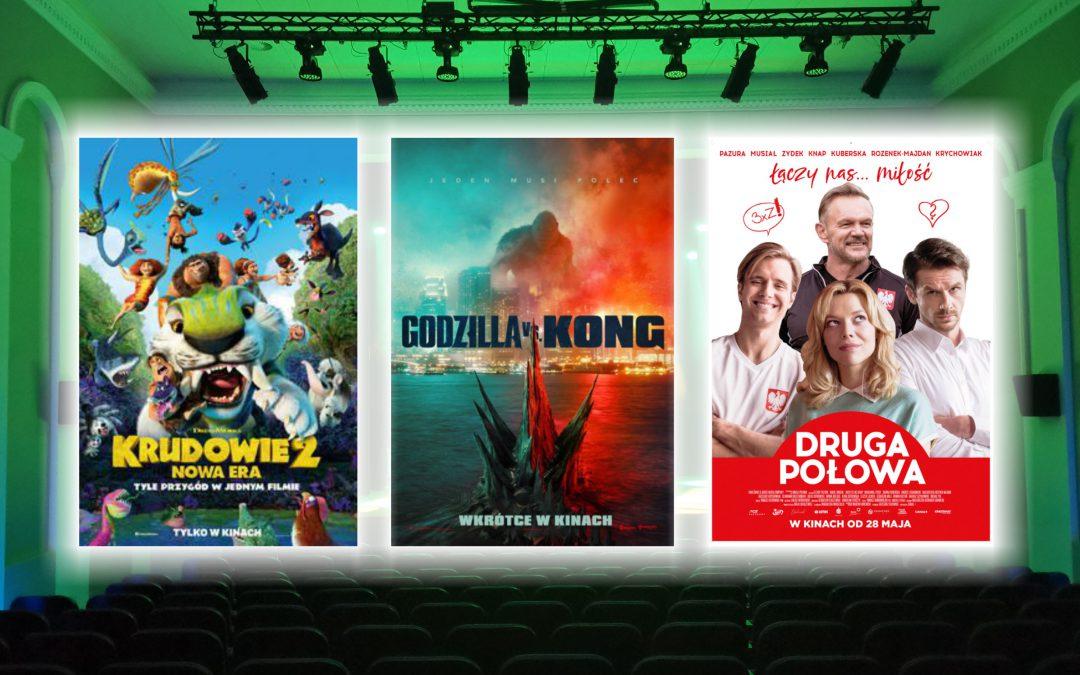 """""""Krudowie 2: Nowa era"""", """"GODZILLA vs. KONG"""" i """"Druga połowa"""""""