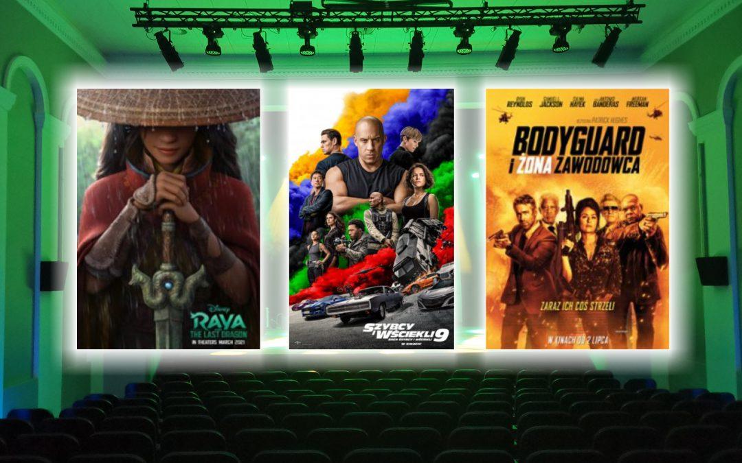 """""""Raya i ostatni smok"""", """"Bodyguard i żona zawodowca"""" i """"Szybcy i wściekli 9″ w kinie Apollo"""