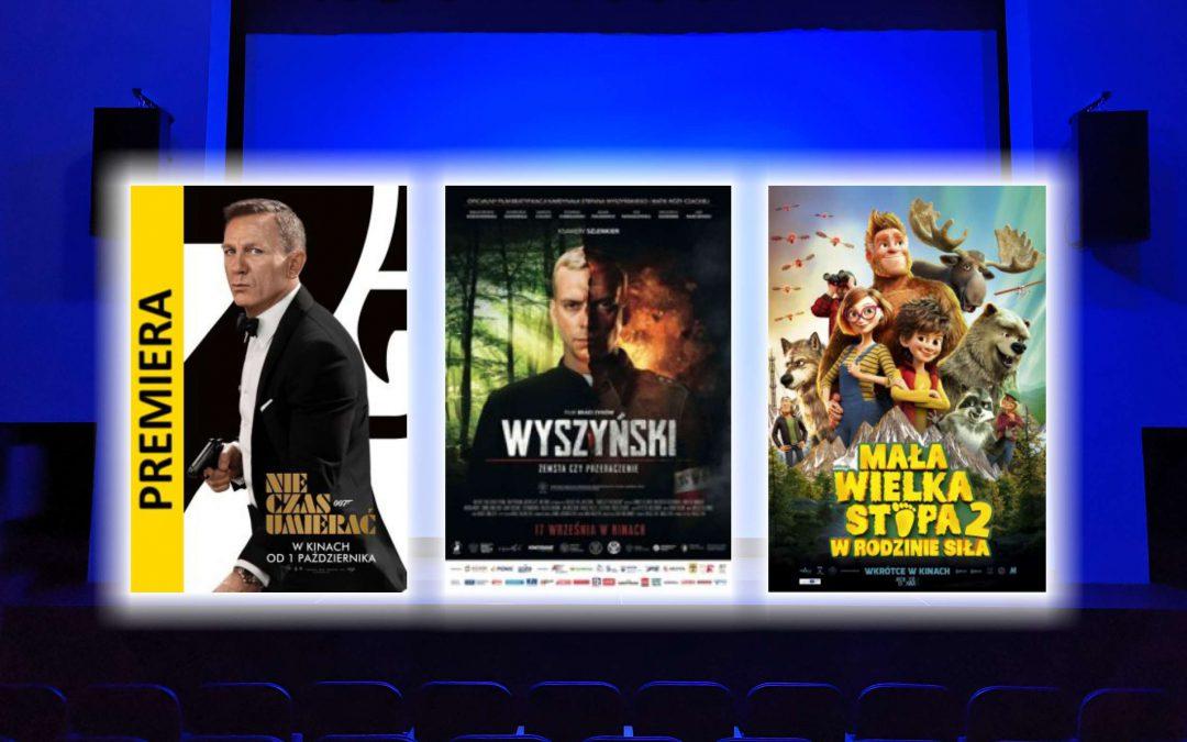 """Zapraszamy na mega premiery: James Bond """"Nie czas umierać"""", """"Wyszyński – Zemsta czy przebaczenia"""", """"Mała Wielka Stopa 2: w rodzinie siła"""""""