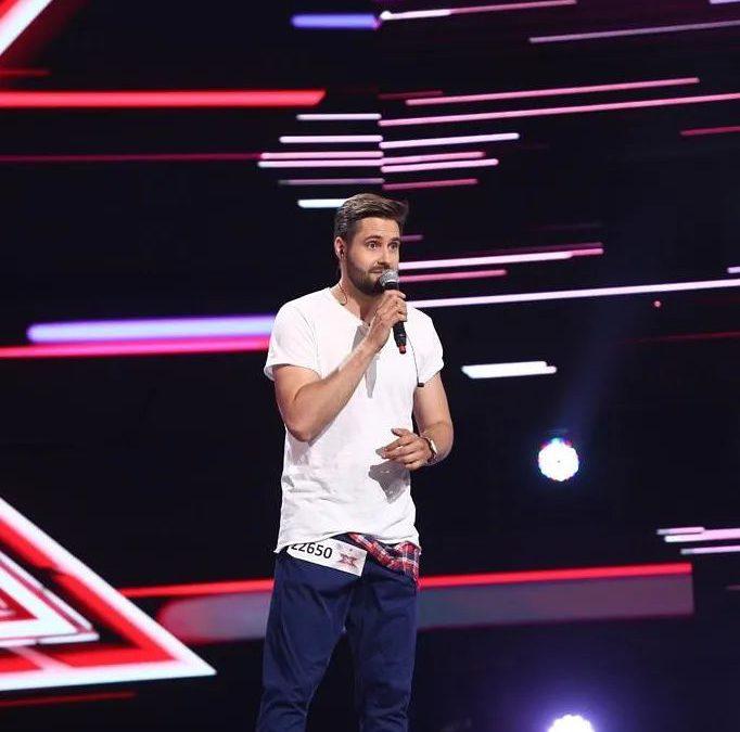 Daniel Chodyna w rumuńskiej edycji programu X Factor